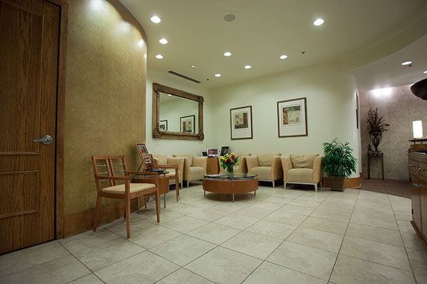 Inside the office of McDonald DDS in Plano, TX